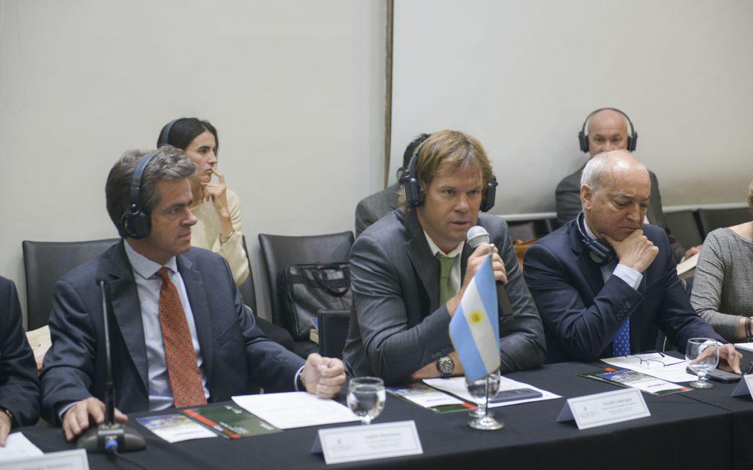 Agroindustria recibió una delegación de Alemania para desarrollar el primer taller de Bioeconomía Forestal